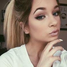 Mac makeup look Flawless Makeup, Gorgeous Makeup, Pretty Makeup, Simple Makeup, Natural Makeup, Kiss Makeup, Beauty Makeup, Eye Makeup, Hair Makeup