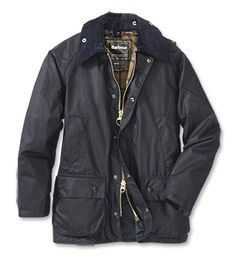 Barbour Bedale Jacket - Navy Size 40
