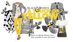 Black, white & yellow. Spring Summer 14 Articles fashion, www.articles.nl