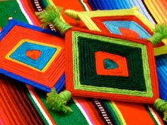 DIY Weaving DIY Crafts   DIY  Make Ojos de Dios (God's Eyes)