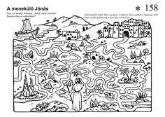 Jona zoekt de weg naar Ninevé