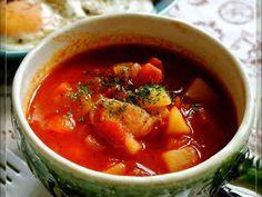 簡単♡トマトスープ(ミネストローネ)の画像