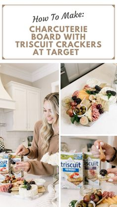 @TRISCUIT Crackers are great for your boards because they are wholesome and sturdy enough to hold your toppings without crumbling. #ad Be sure to use the Circle Offer in the @Target app from 10/16-10/31 for 15% off your purchase! #TRISCUITFlavorsAtTarget