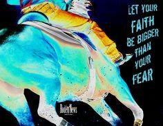 Faith be bigger than ur fear