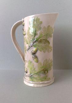 Large Oak leaf jug