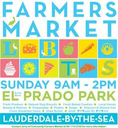 Lauderdale-By-The-Sea Farmers Market every Sunday