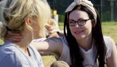Alex And Piper, Piper Chapman, Alex Vause, Laura Prepon, Orange Is The New Black, Best Tv Shows, Crushes, Gay, Heart