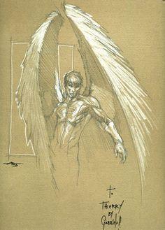 Awesome Arch Angel X-men Marvel Comics Art