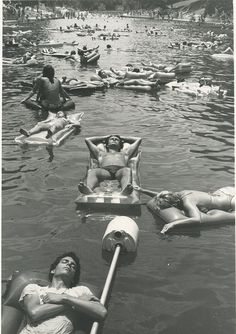 Barton Springs, Austin, 1982. Hopefully this is what my summer will look like.