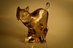 Atemberaubende WWF unterzeichnet Kunst Glas von oneeyedraven Kosta Boda, Lion Sculpture, Statue, Etsy, Art, Eurasian Lynx, Kunst, Wild Animals, Sweden