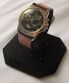 Marvin the Martian Looney Tunes Armitron Ladies Wrist Watch 1994 Musical
