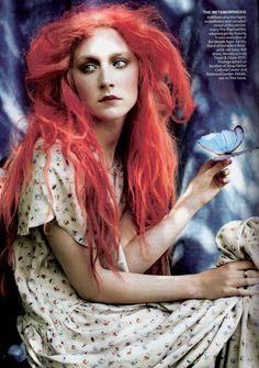 Saoirse Ronan, Grace Coddington, Vogue