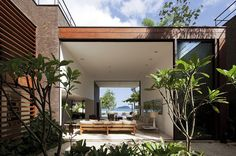 Modern beach house in Brazil