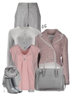 """""""set"""" by vesper1977 ❤ liked on Polyvore featuring ADAM, People Tree, Christian Dior, Blue Les Copains, Balenciaga, maurices, Charriol, Crislu and Blue Nile"""