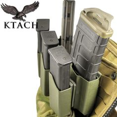 SCR 5 UP Kydex Pistol Rifle Combo Mag Carrier | KTACH Kydex Solutions