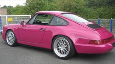 Porsche 964 RS ruby stone red