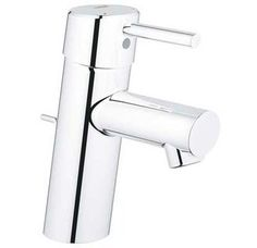 Buy the Grohe 34270001 Starlight Chrome Direct. Shop for the Grohe 34270001 Starlight Chrome Concetto Single Handle Single Hole Bathroom Faucet with SilkMove Ceramic Disc Cartridge - Free Metal Drain Assembly with purchase and save. Kitchen Mixer Taps, Basin Mixer Taps, Kitchen Appliances, Single Handle Bathroom Faucet, Bathroom Sink Faucets, Bathrooms, Bathroom Plumbing, Bathroom Fixtures, Sinks