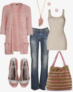 Casual Outfit-for me. Love the flats and bag