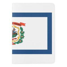 West Virginia flag, American state flag Passport Holder