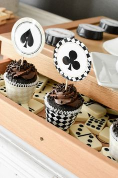 Sneak Peek at our New Game Night Party Printable set perfect for adult or kiddie…