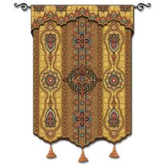 Prema Gold Woven Wall Tapestry