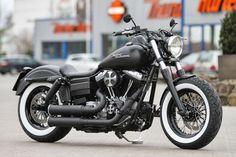 Custom Harley-Davidson Street Bob - Thunder Bike Customs