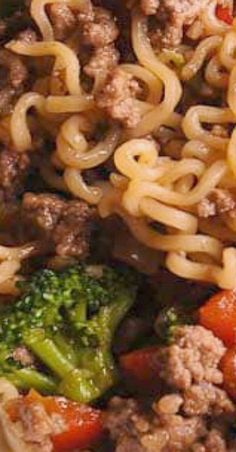Beef Ramen Noodles Stir Fry is a quick budget-friendly way to use instant ramen! Instead of using ramen soup packets, you will make quick homemade sauce, packed with flavor! This healthy ramen noodles recipe is Healthy Ramen Noodles, Ramen Noodle Recipes, Quiche, Asian Recipes, Healthy Recipes, Japanese Recipes, Asian Foods, Ground Beef Recipes, Whole 30 Recipes