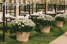 9 sugestões simples para decorar a cerimônia de casamento   Blog do Casamento