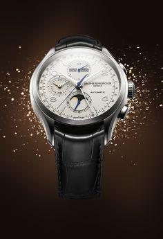 Baume et Mercie mood sparkling homme men Clifton 10278 » Das Uhren Portal: Watchtime.net
