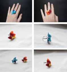 Bagues papillons !
