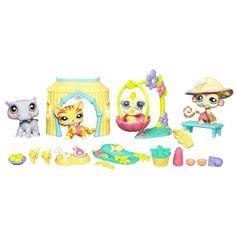 Amazon.com: Littlest Pet Shop Jungle Set: Toys & Games