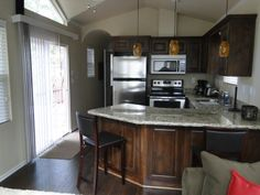 Wowlove This Option Great Kitchen Floors Stairs Island