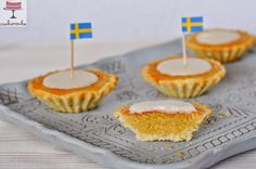 Fika time with mazariner (almond tartlets)