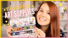My Top Favorite Art Supplies Collection | Favorite Watercolor Painting &...