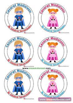Ílk gün Kindergarten Games, Classroom Activities, First Day Activities, Activities For Kids, Pre School, Back To School, School Labels, Beginning Of The School Year, New Hobbies