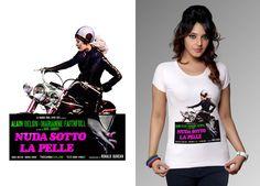 T-shirt for lady www.kustomlifestyle.it  #kustom #kustomclothing #bikerlady