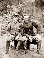 Custer and Captured Soldier