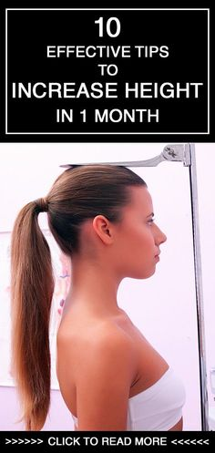 Effective Tips To Increase Height In Couple of Months