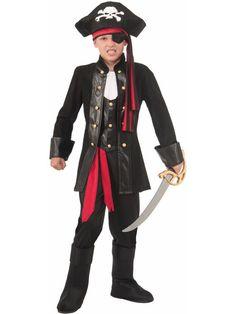 Seven Seas Pirate Child Costume