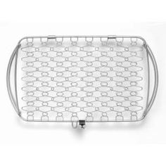 Weber Large Stainless Steel Fish Basket-6471 at The Home Depot