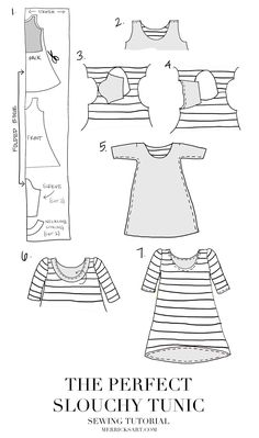 Merrick's Art // Style + Sewing for the Everyday Girl: DIY FRIDAY: THE PERFECT SLOUCHY TUNIC [SEWING TUTORIAL]