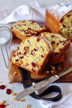 Sinaasappel-cranberry cake