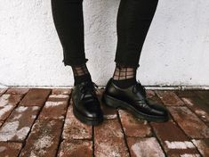 DOC'S & SOCKS: The 1461 Mono shoe, shared by brainchild_project.