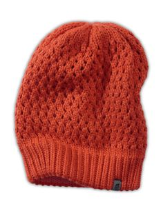 The North FaceWomen'sAccessoriesSHINSKY BEANIE in spicy orange