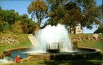 Water Fountain At Lake Hopatcong State Park