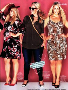 New Idea 28th April 2014 Women's Plus Size Fashion #citychic #citychiconline #plussize #curves