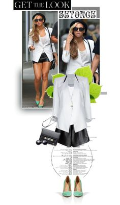 """""""#637 Get the Look: Beyonce Incognito Style"""" by anavukadinovic on Polyvore"""