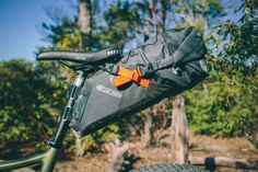 Ortlieb Seat-Pack Review, waterproof bikepacking bags