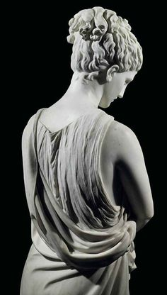 'Bonne Renommee' by Charles Adrien Prosper D'Epinay Ancient Greek Sculpture, Greek Statues, Ancient Art, Angel Statues, Buddha Kopf, Julius Caesar, Stone Sculpture, Metal Sculptures, Greek Art