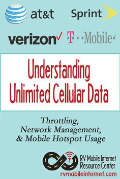 Understanding Unlimited Cellular Data Plans: Network Management, Throttling & Mobile Hotspot Usage